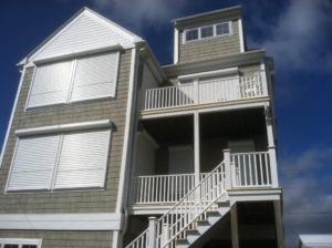 Hurricane Shutters Topsail Beach