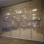 Vision profile commercial shutters