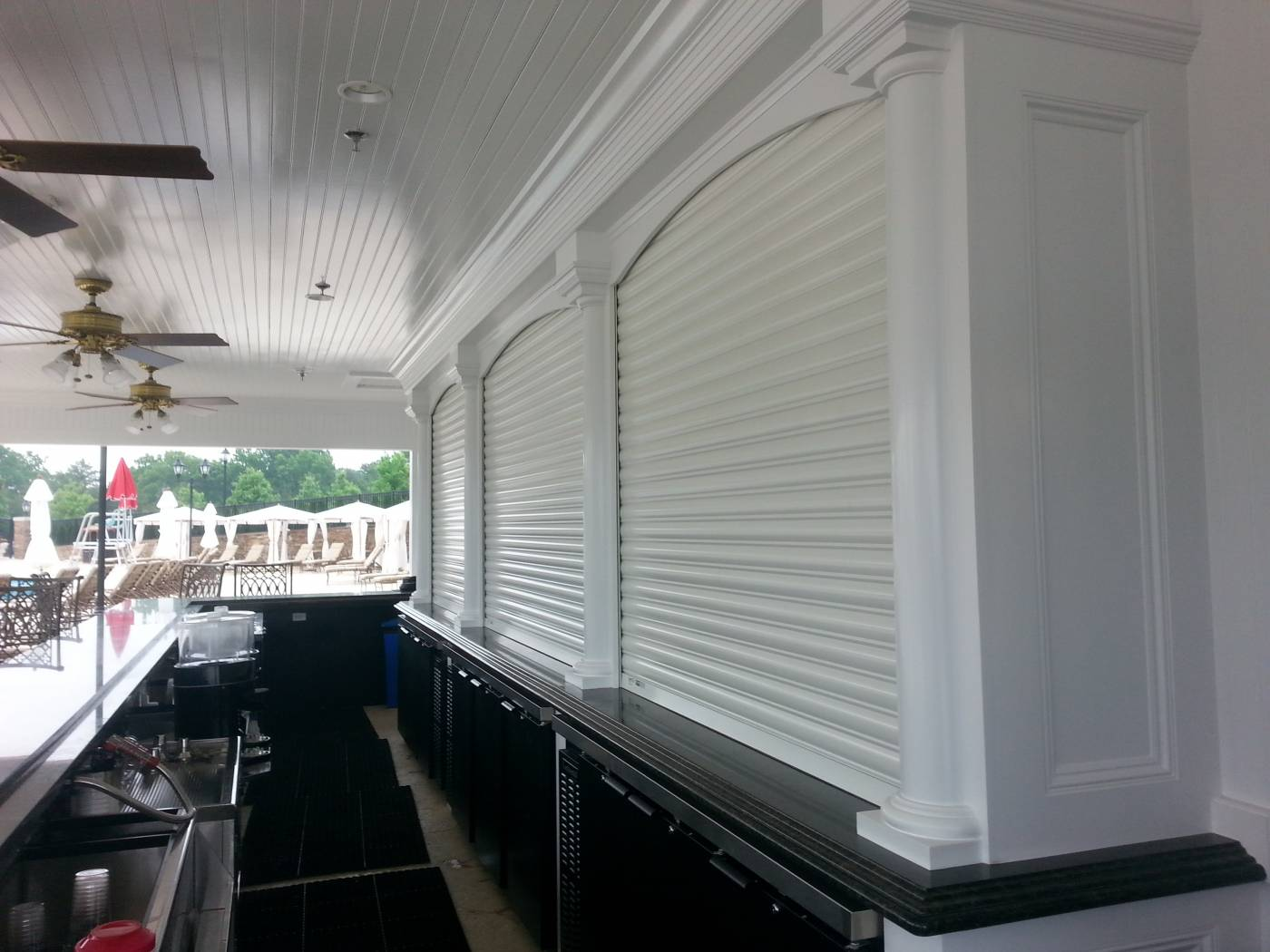 Commercial Atlantic Breeze Storm Shutters Amp Awnings